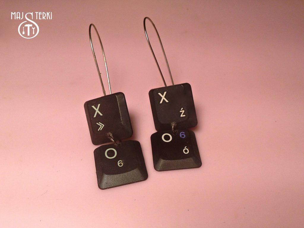 XO/XO kolczyki