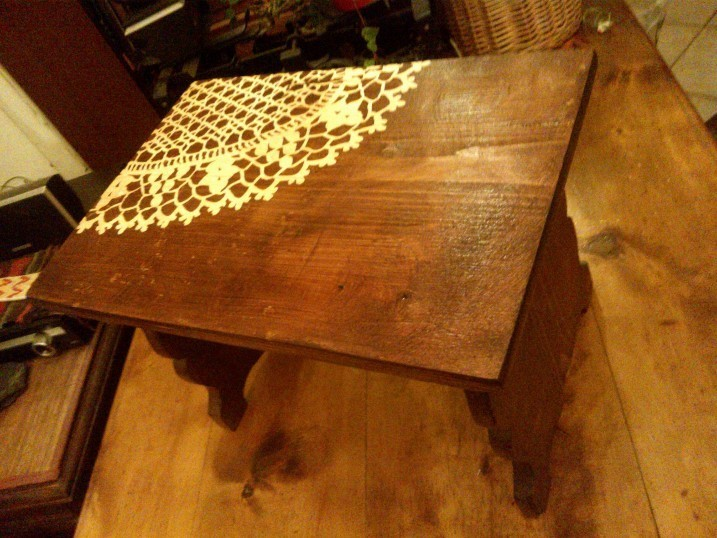 Stół znaleziony przez Marię Dobiczyńską