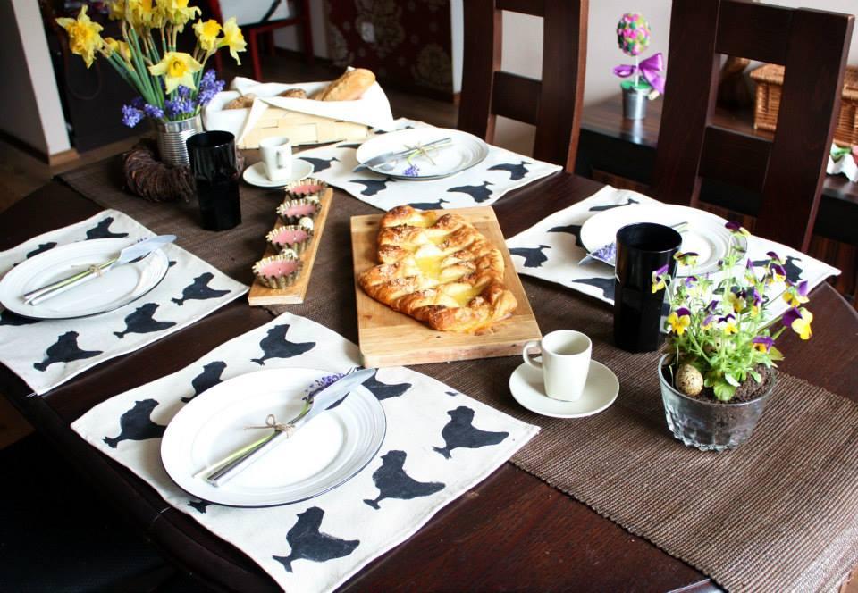 Wielkanocny stół by Majsterki