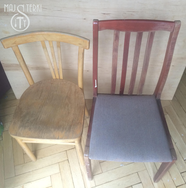 krzesła przed