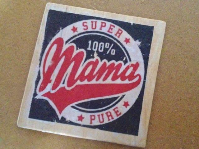 """Podkładka z hasłem """"Super Mama"""""""