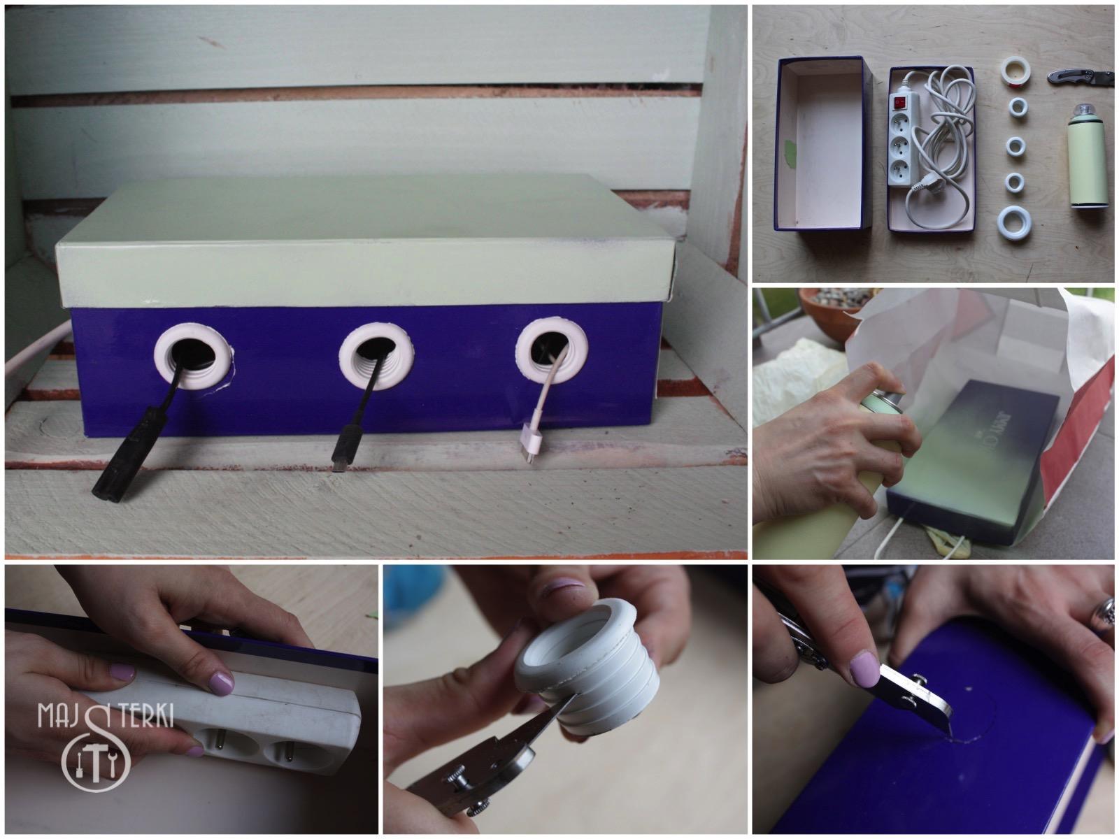 Jak ukryć i uporządkować kable i ładowarki?