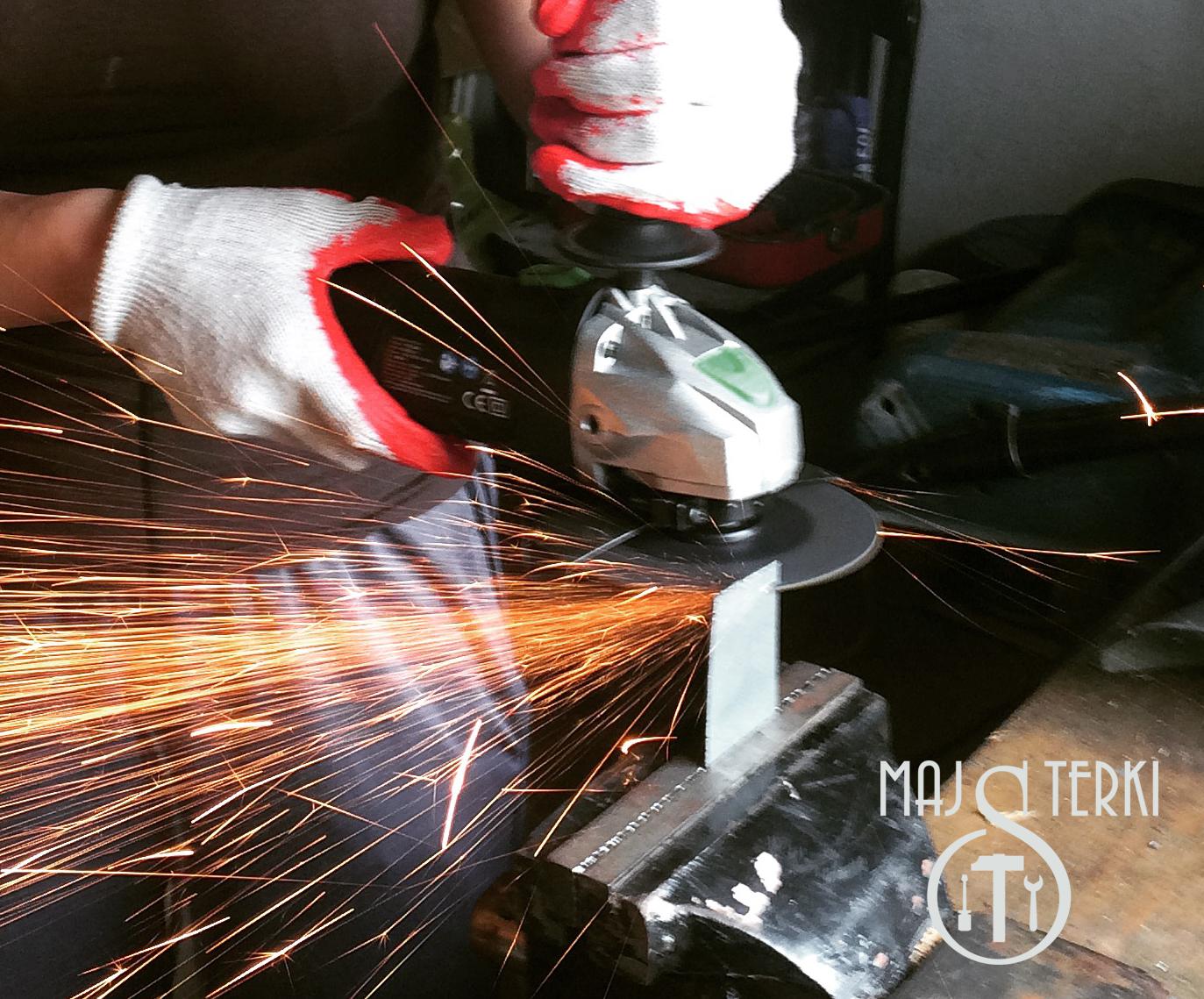 cięcie metalu