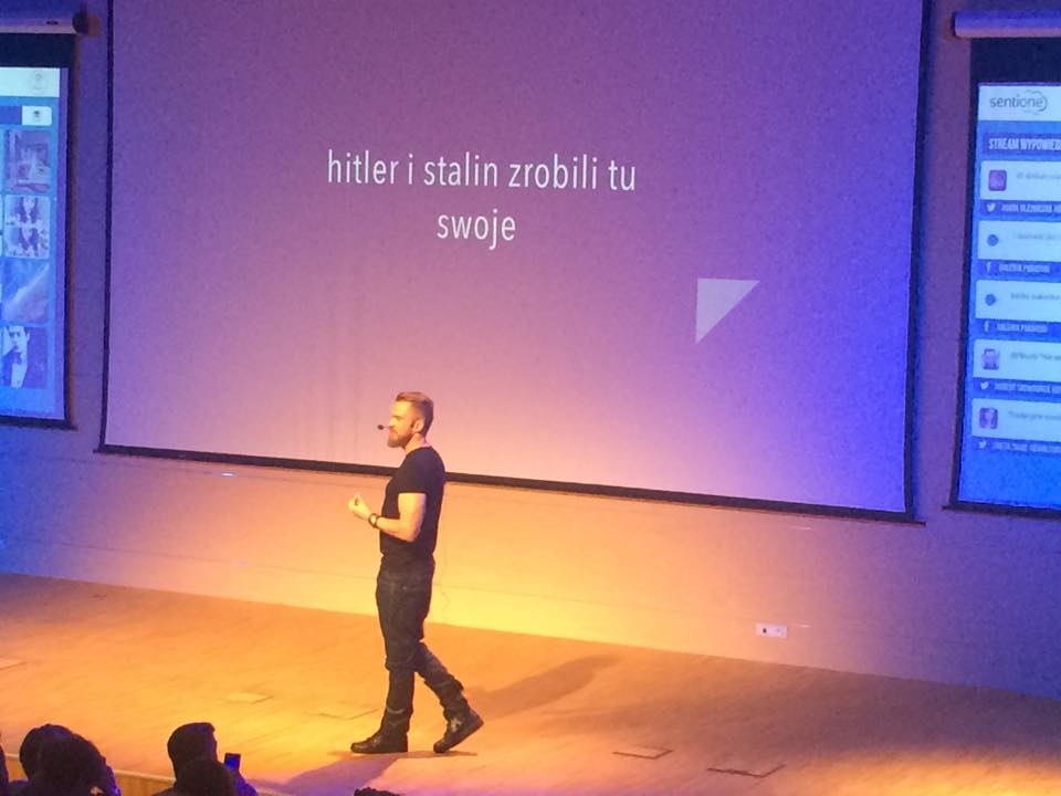Piotr Bucki na Seebloggers