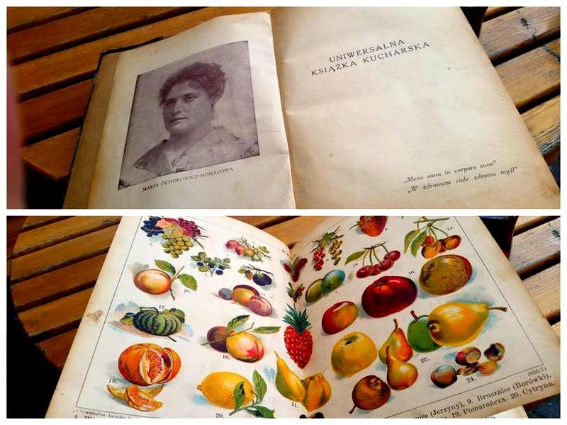 Pięknie wydana 89-letnia książka kucharska