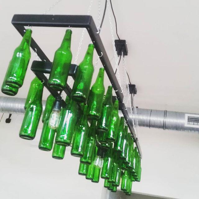 lampa z butelek