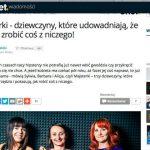 Onet.pl o Majsterkach