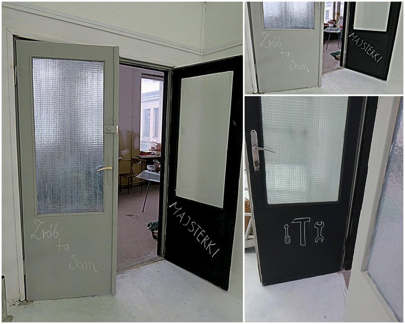 drzwi tablicowa