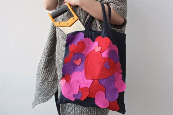 Sercowa torba na Walentynki