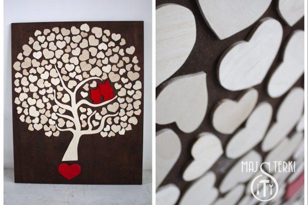 drzewko serca wesele majsterki3