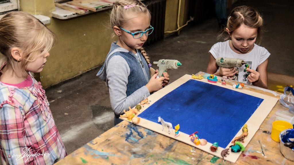 dzieci warsztaty majsterki