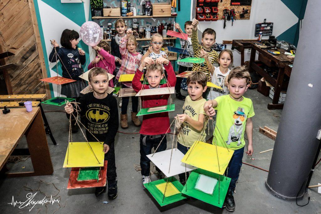 warsztaty dzieci karmniki