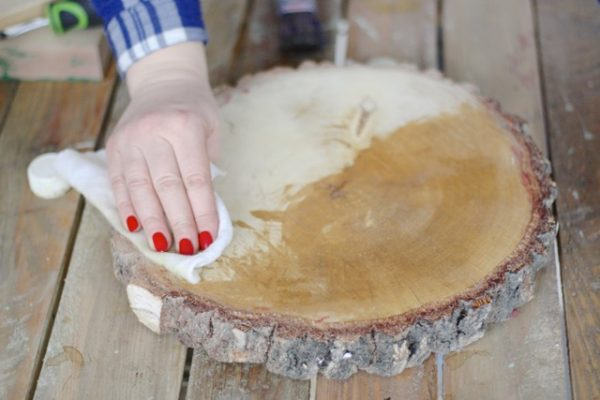 olejowanie drewna test