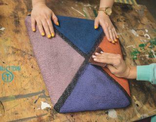 test farb kredowych na tapicerce