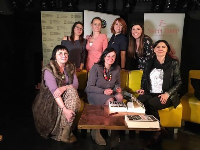 Z autorką Dorotą Kowalska, Barbarą Piwnik i Martyna Tokarczuk.