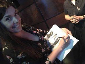 Basia składa autograf ;-)