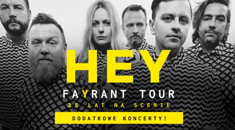 "Hy - plakat ""fayrant tour"""