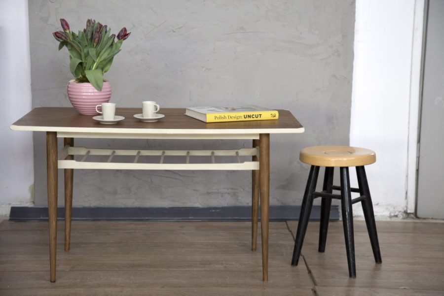 stolik meble prl renowacja warsztaty